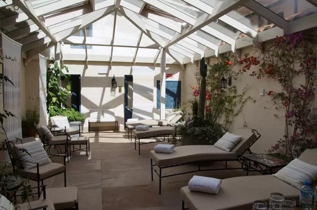 The spa at the Belmond Palacio Nazarenas in Cusco