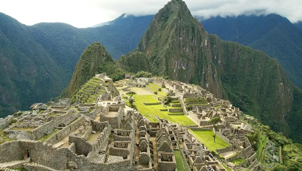The iconic view on Machu Picchu, Peru