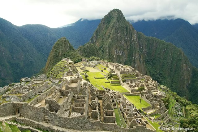 The iconic view on Machu Picchu, Peru