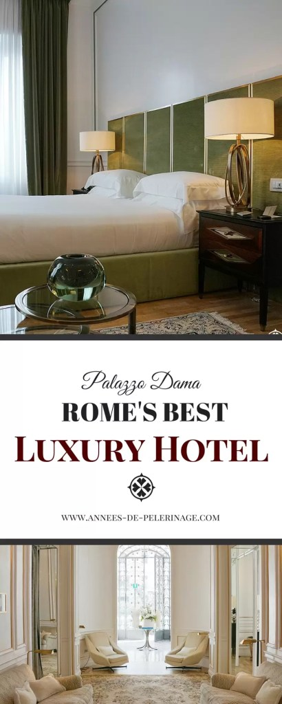 The Palazzo Dama is a charming design hotel in the middle of Rome. Opened in December 2015 the design hotel offers the perfect luxury in Italy's capital. Click for a full review of the Palazzo Dama luxury hotel..