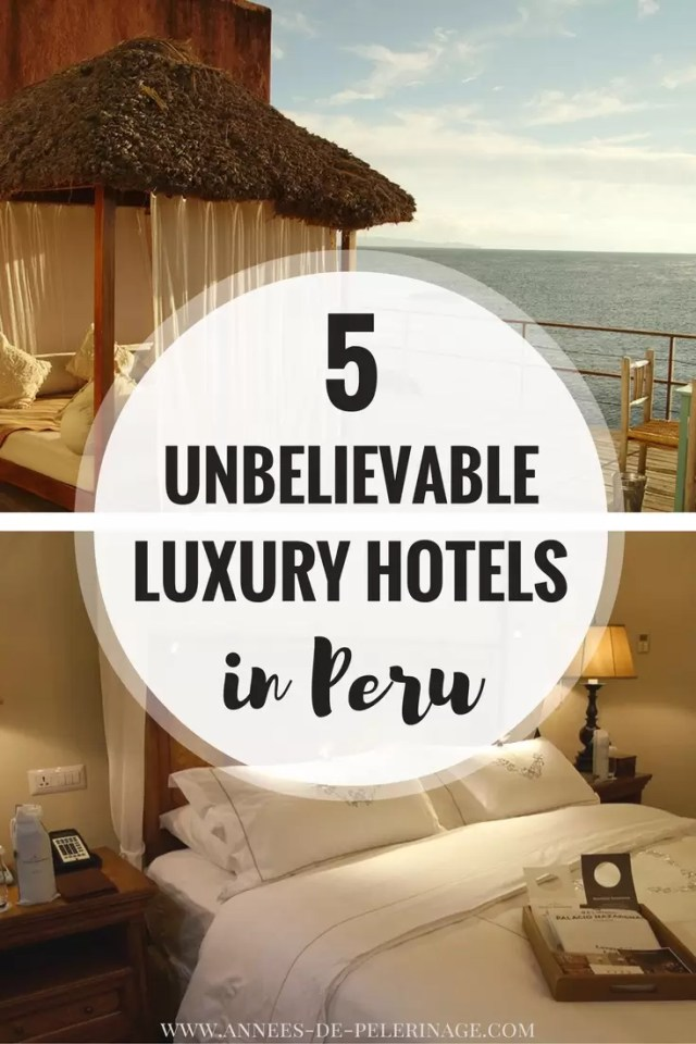 A list of 5 totally unbelievable Luxury Hotels in Peru. On amazing luxury hotel in lima, one in machu pichu - explore the very best hotels in peru