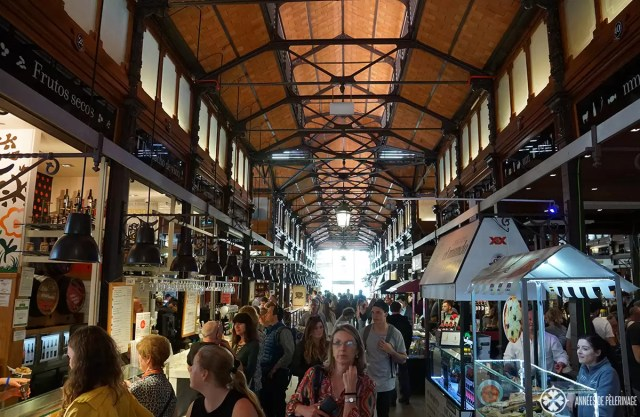 Mercado de san Miguel is Madrid gourmet food market and you really shouldn't miss it