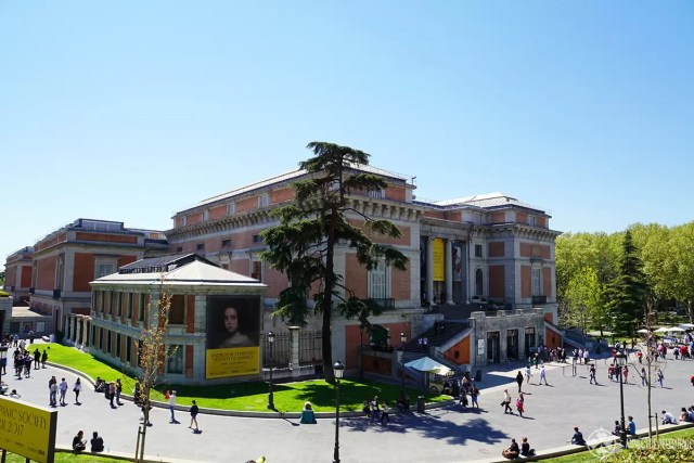 The famous Prado Museum in Madrid - one of the many things to see in Madrid