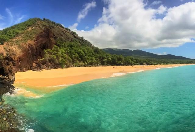 Big Beach in Maui, Hawaii