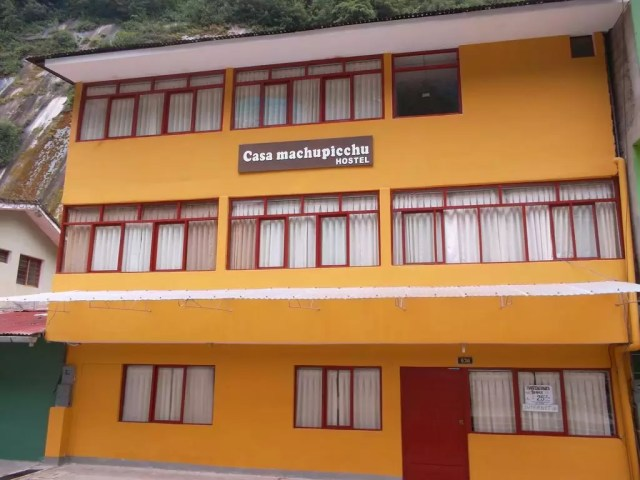 The Casa Machu Picchu hostel in Aguas Calientes - the cheapest hostel