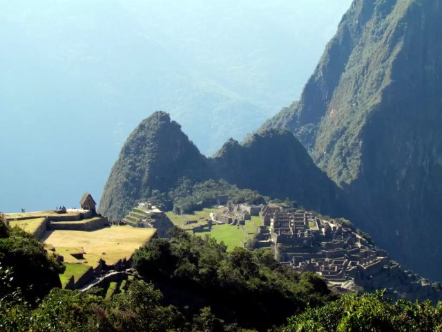Huchuy Picchu, behind Machu Picchu Peru - a good alternative to climbing Wayna Picchu