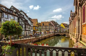 The most beautiful town in France, Colmar