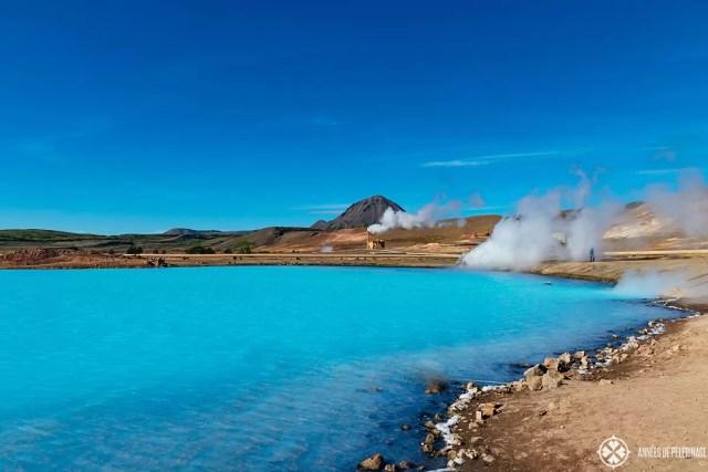 The power plant near the Myvatn Nature Bath Iceland