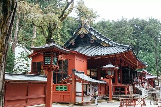 The Futarasan Shrine in Nikko Japan