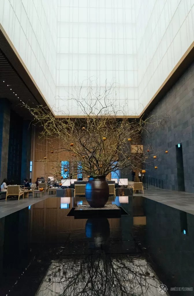 Aman Tokyo - A review of the best luxury hotel in Tokyo