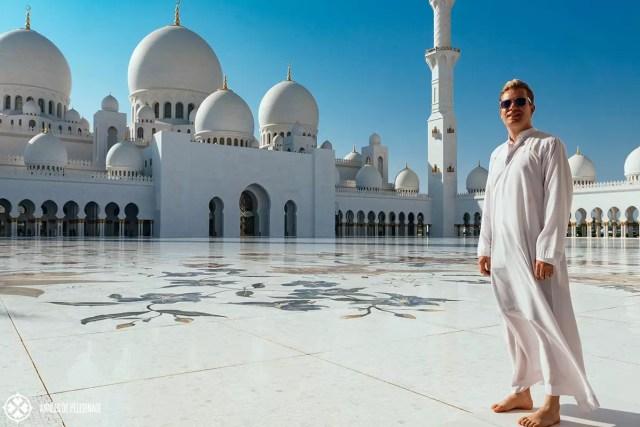 me at sheikh zayed mosque abu dhabi