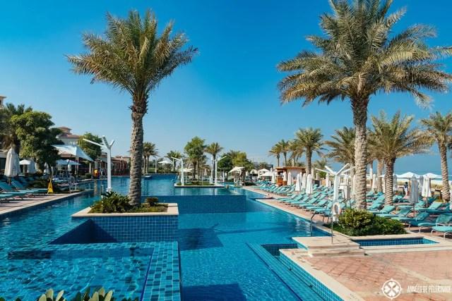 Pool of the St. Regis Saadiyat Island, Abu Dhabi