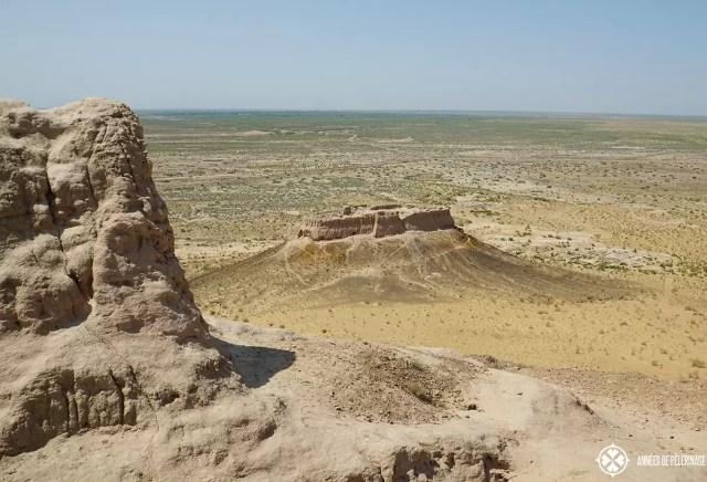 unknow khwarezm desert for near khiva Elliq-qala