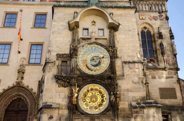 Astronomical Clock on the Old Town Square in Prague - one of the free things to see in Prague