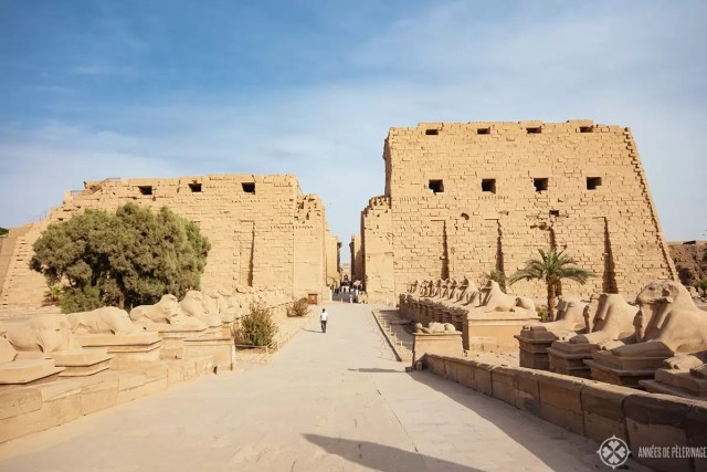 The Karnak temple in Luxor one of the best places to see in Egypt