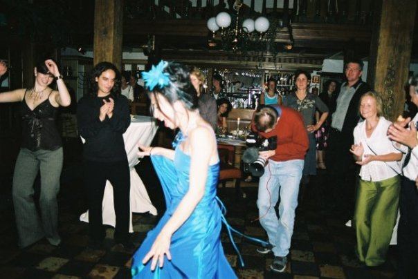 Dancing in the mother of all fortresses in Naarden Vesting, October 2005