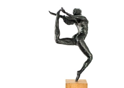 Dancer black patinated
