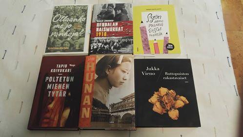 10 kirjaa jouluksi