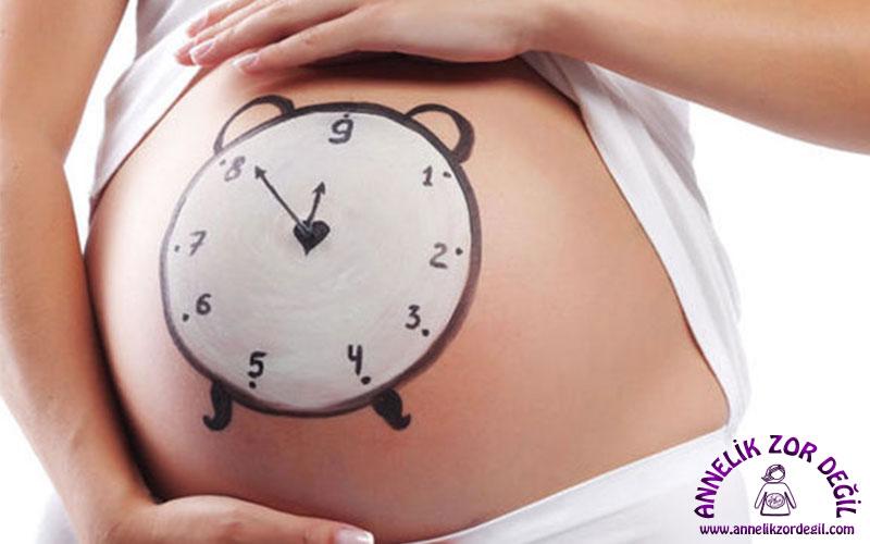 Bebek kaç haftada doğar?