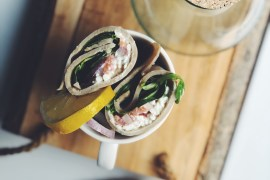 Glutenvrije homemade wraps
