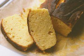 Glutenvrije vanille citroencake