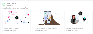 Lees meer over het artikel Gratis Clover bij coinbase