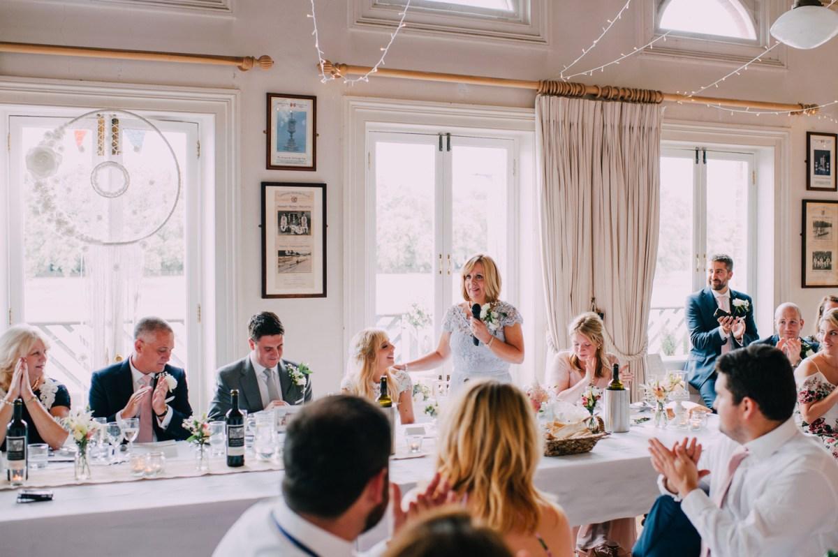 london rowing club mother of bride speech