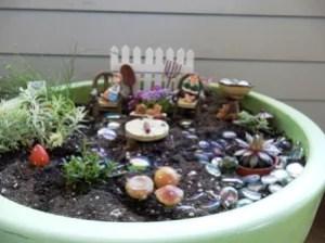 Jackson and Julianna Fairy Garden