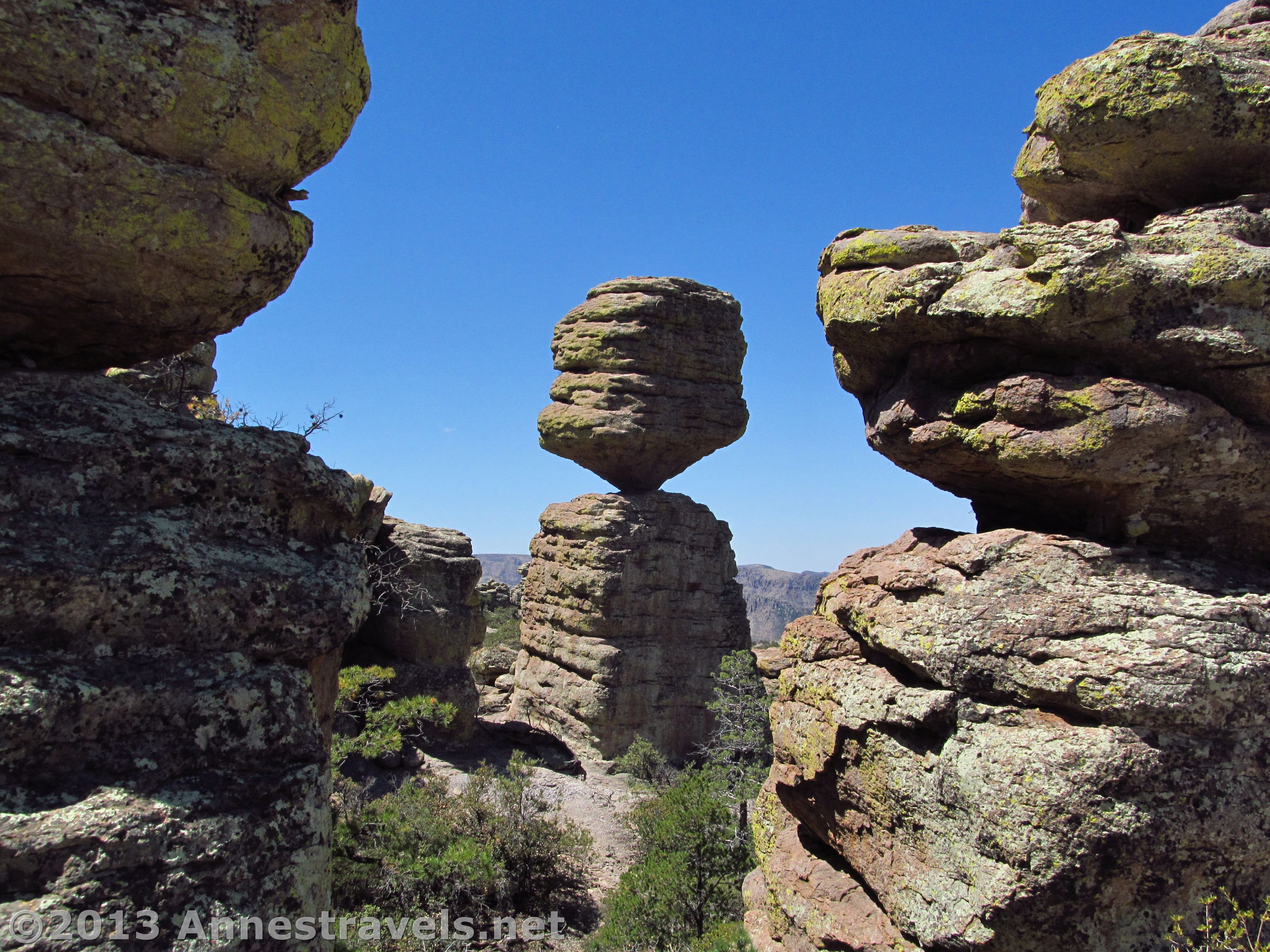 Chiricahua Loop To the Big Balanced Rock  Annes Travels