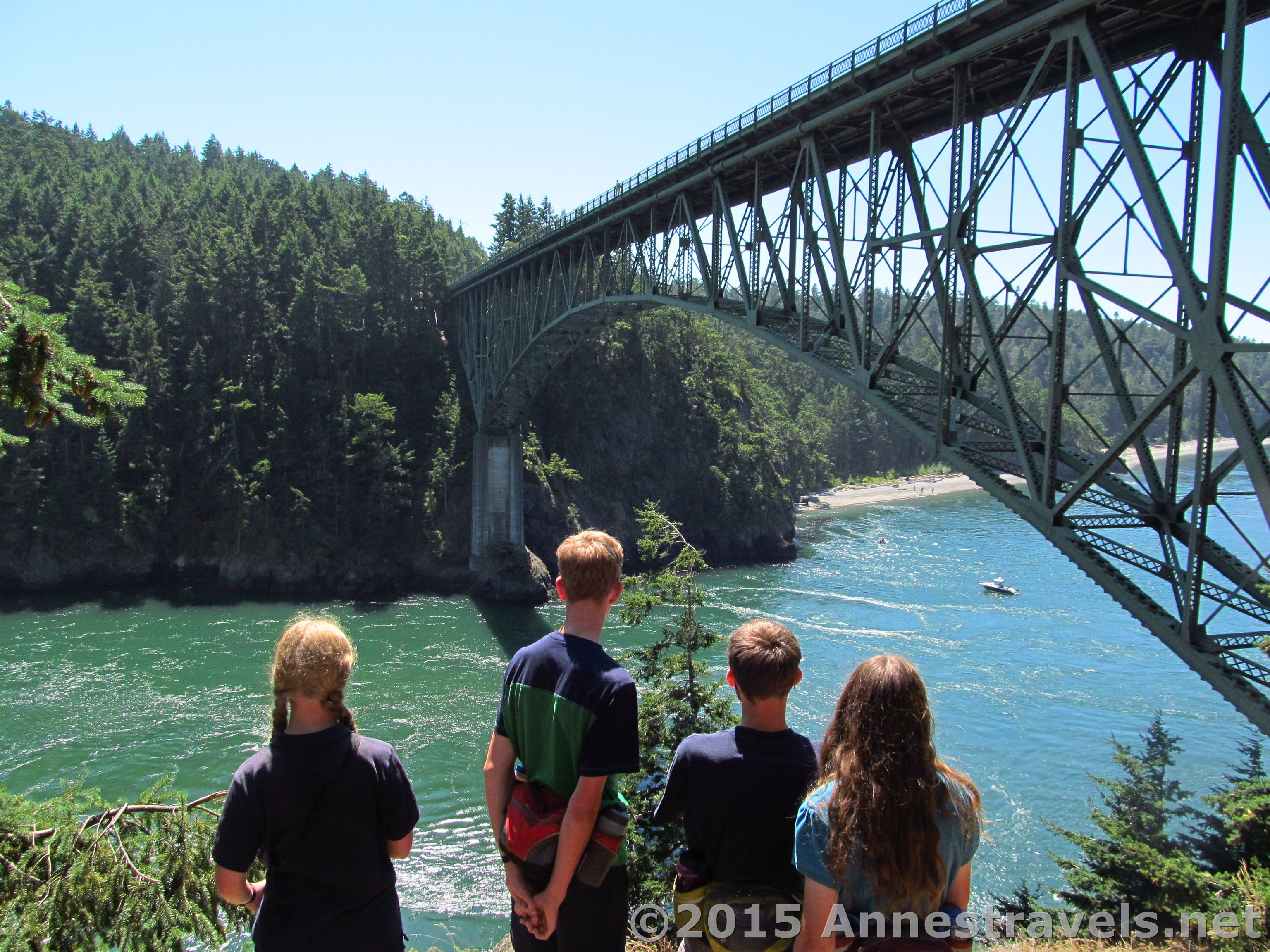 How to Visit the Deception Pass Bridge for Free  Annes