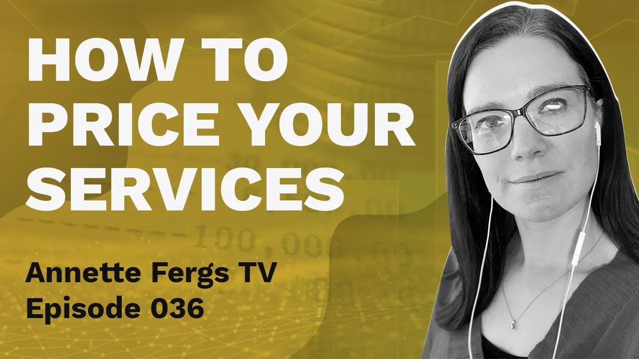 a featured banner image entitled how to price your services