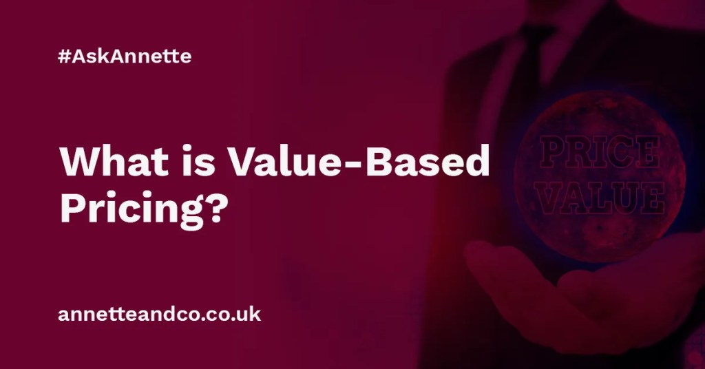 a featured image of a blog post that highlights the topic What is Value-Based Pricing