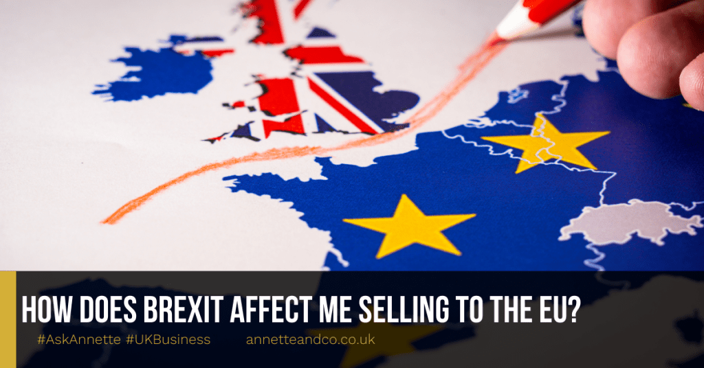 a blog featured image entitled How Does BREXIT Affect Me Selling to the EU?