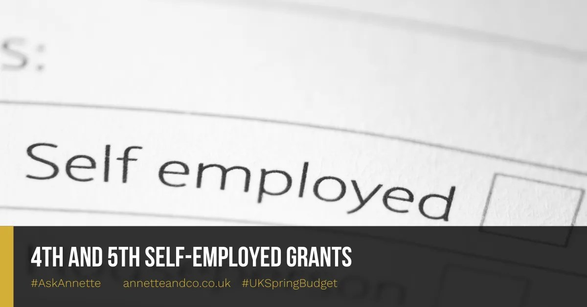 4th and 5th Self-employed Grants