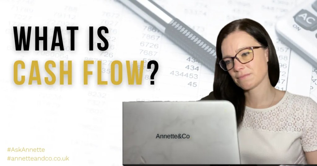 a blog featured image of Anette entitled What is Cash Flow?