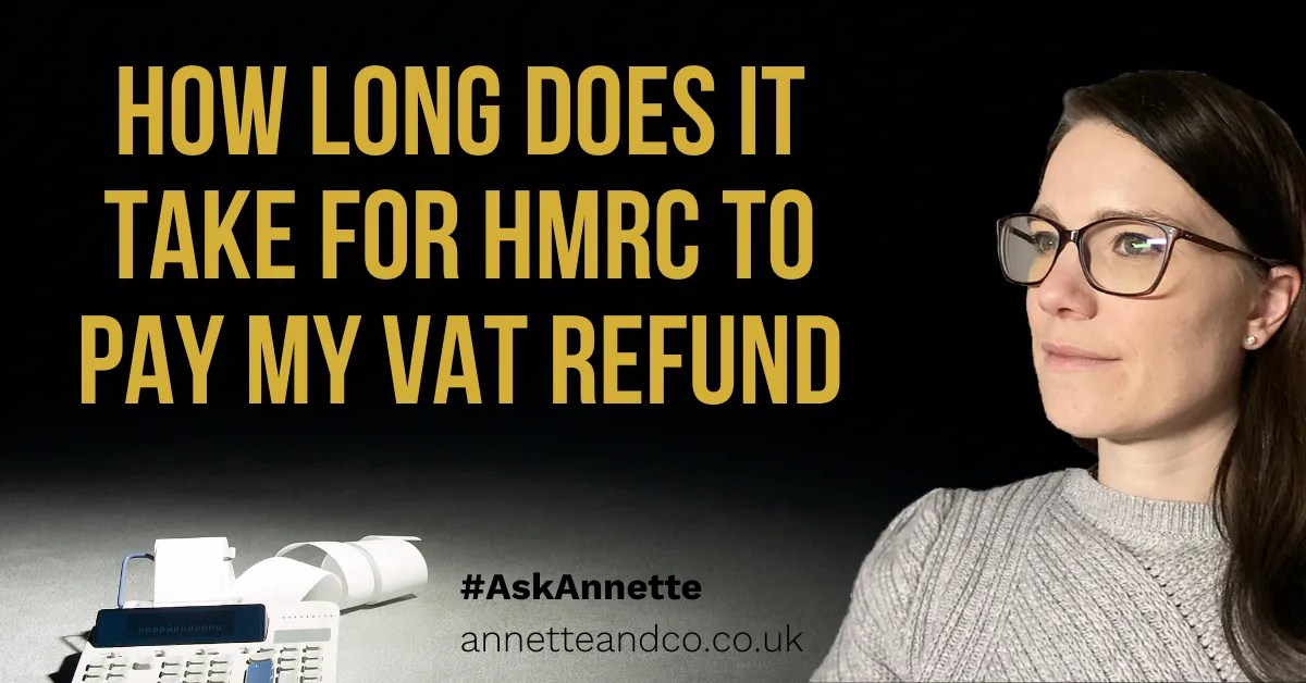 a blog featured image of annette about the topic of vat refund