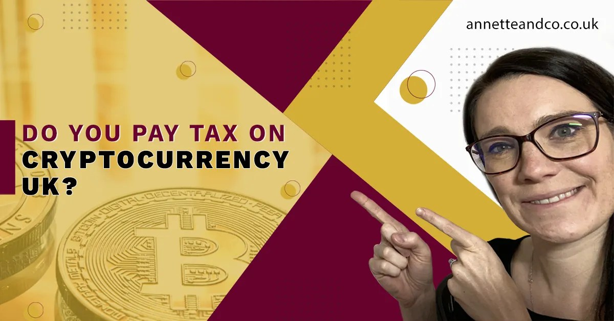 a blog featured image with a topic title about Do You Pay UK Tax On Cryptocurrency?