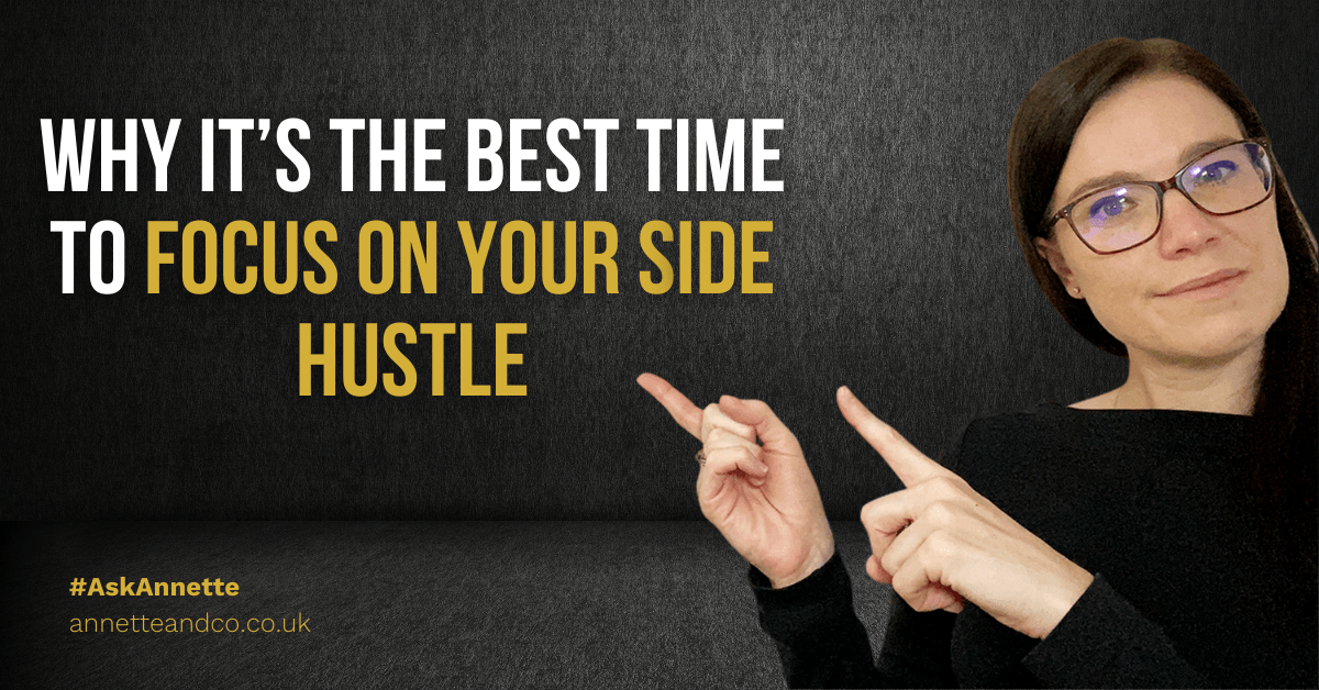 a blog featured image Why It's The Best Time To Focus On Your Side Hustle?