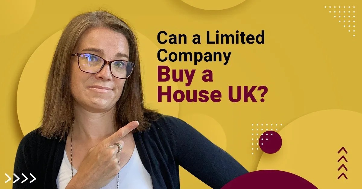 a blog featured image with a topic title about Can a Limited Company Buy a House in UK?