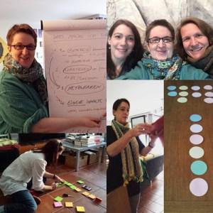 Collage mit Fotos aus Melanies Mentoring