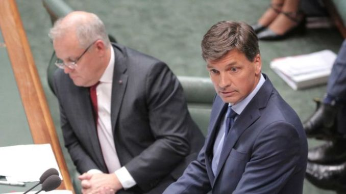 Angus Taylor facing Clover Moore document probe by NSW Police