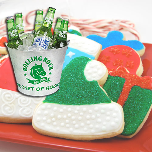 Rolling Rock & Sugar Cookies