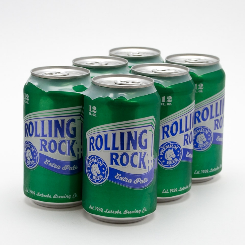 Rolling Rock Cans