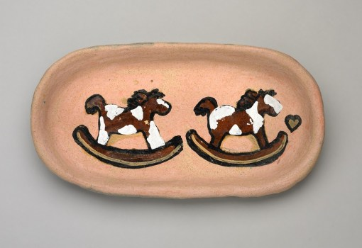 Rocking Horse Plate