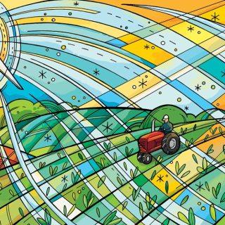 Farm Mural for University of Minnesota