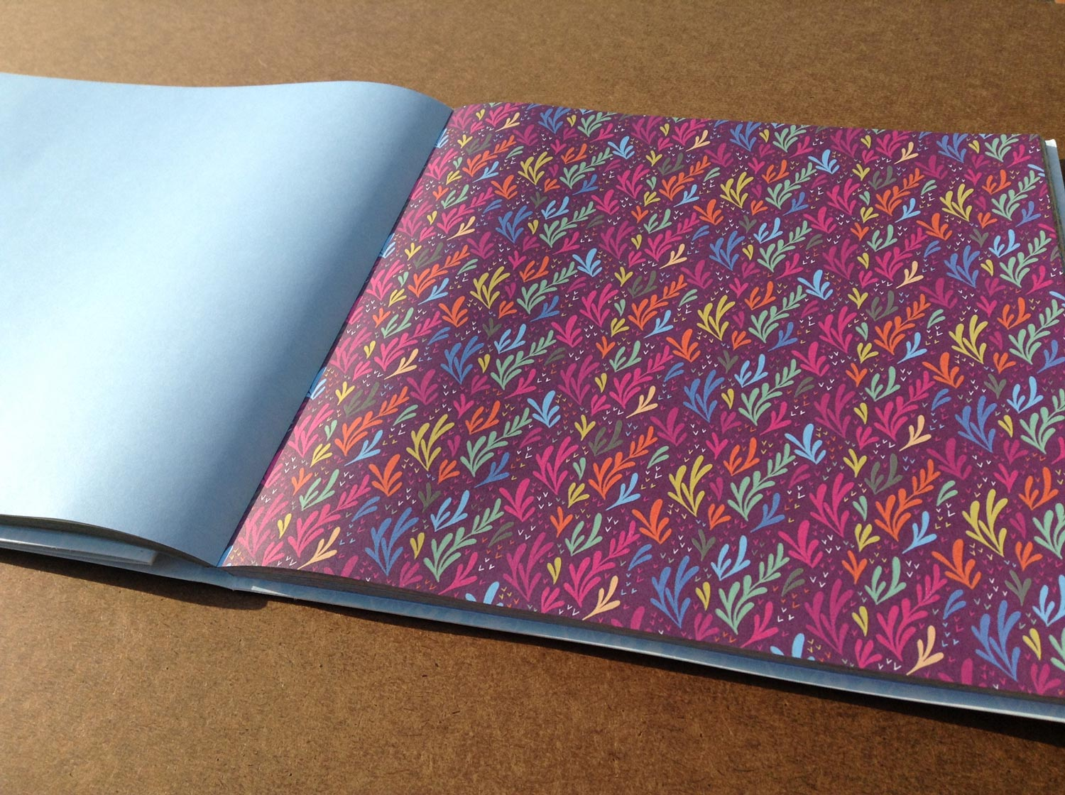 Origami book spread 2