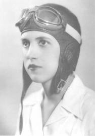 -Jacqueline Cochran-(Pioneer American aviator, considered to be one of the most gifted racing pilots of her generation 1906-1980)