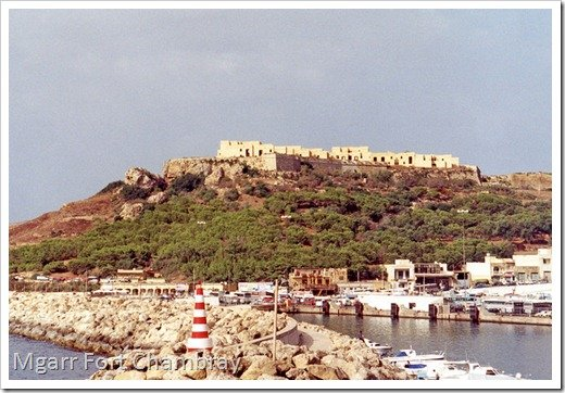 Mgarr fort chambray