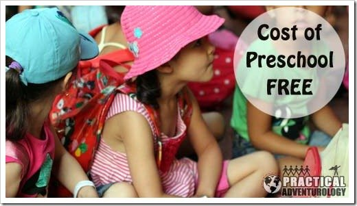 How much does pre-school cost in france?