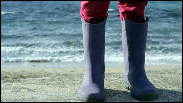 A day at the beach in the south of france: Le Pradet galoshes